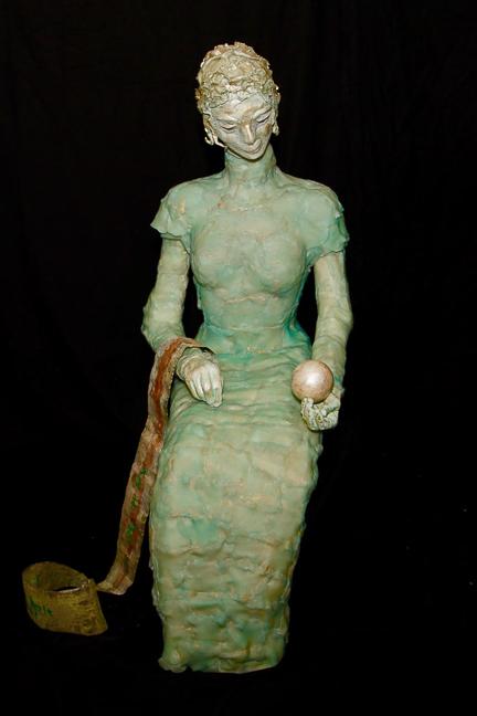 Schönheit - Perlenfrau